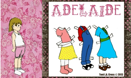 Adelaide Paper Doll